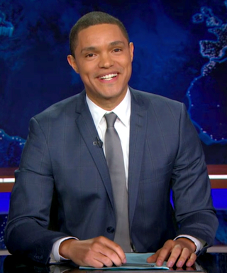 Trevor Noah Gives a Sweet Tribute to Jon Stewart on His Daily Show Debut