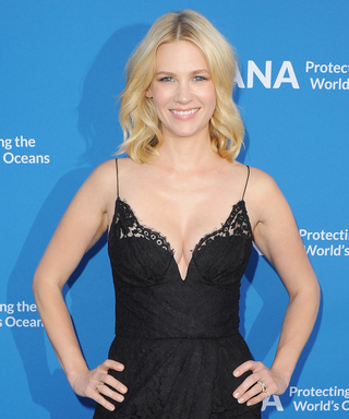 January Jones Reveals Her Adventurous, Underwater Hobbies—and Explains Why Her Son Loves Sharks