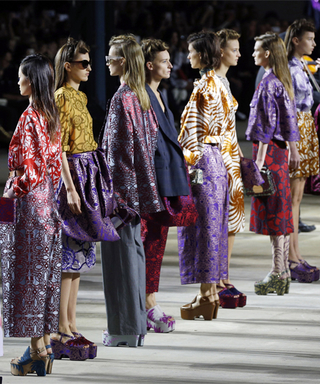 Back of the Cab: Kick Off #PFW with Our 1-Minute Review of Dries Van Noten's Runway Show