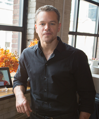 Matt Damon on the Moment He Realized He Could Have a Huge Impact on Lives Around the World