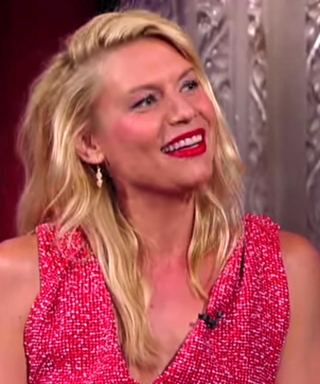Watch Claire Danes React to Crazed Homeland Fanatic Stephen Colbert