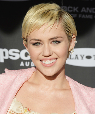Miley Cyrus Looks Prettier Than Ever with a Sleek Chin-Length Bob