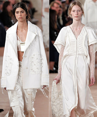 Balenciaga and Dior Woo With Simply Romantic Looks at Paris Fashion Week