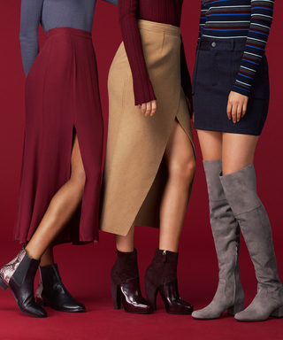The Most Flattering Skirt-and-Boot Pairings to Wear for Fall