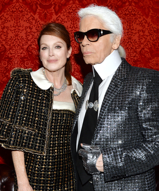 Julianne Moore and Other Karl Lagerfeld Muses Fête Chanel's New London Exhibition