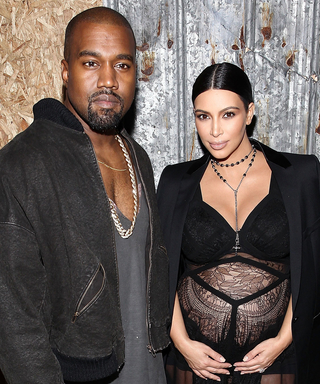 Kim Kardashian and Kanye West May Have Picked Out a Middle Name for Their Son