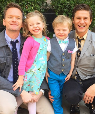 Neil Patrick Harris and David Burtka Take On London's Borough Market with Their Twins