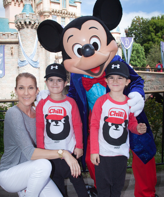 Céline Dion Takes Her Twins to Disneyland to Celebrate Their 5th Birthday