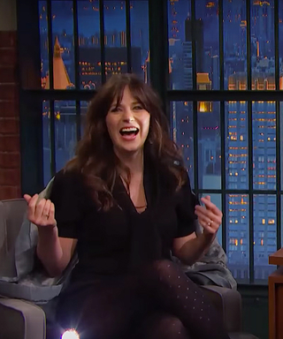 "Zooey Deschanel Tells a ""Scary"" Story About Her Newborn Keeping Her Up All Night"