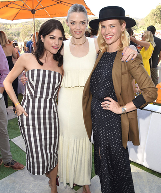 January Jones Channels Pretty Woman at the Veuve Clicquot Polo Classic in Los Angeles