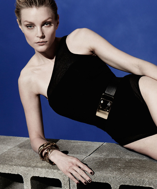 See Jessica Stam's Super-Sexy Swimsuit Campaign for Camilla and Marc