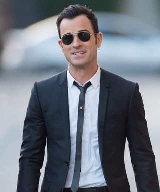 Justin Theroux Is Now Wearing an Earring (and Obviously Pulls It Off)