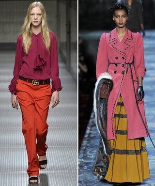 Try Out Fall's Freshest Color Combos with These Runway-Inspired Looks