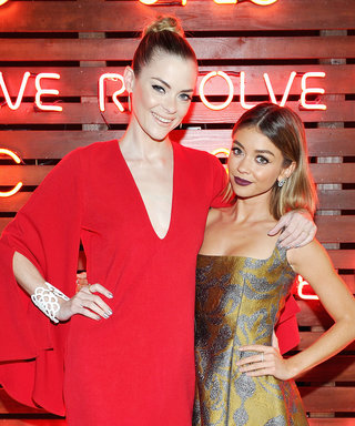Jaime King and Sarah Hyland Shine at Revolve's Fashion Show in Support of Cancer Research
