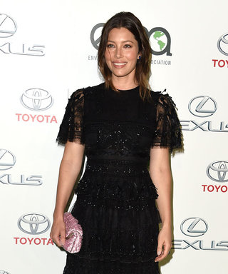 Jessica Biel Dazzles in Black Lace Gown Just 6 Months After Giving Birth to Son Silas