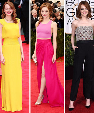 Happy 27th Birthday, Emma Stone! Relive Her 10 Best Red Carpet Looks