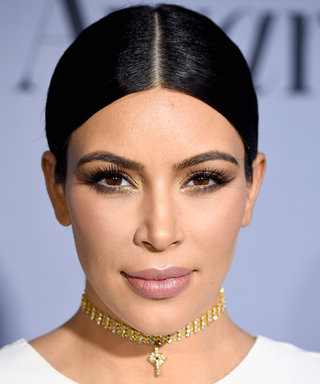 Here's How to Get Kim Kardashian's Makeup from the InStyle Awards