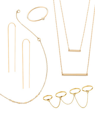 Delicate Gold Jewelry At Every Price Point