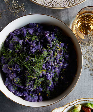 Add a Splash of Color to Your Thanksgiving Table with Travis Lett's Purple Potatoes