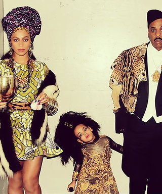 See Blue Ivy, Beyoncé and Jay Z Recreate Coming to America for Halloween