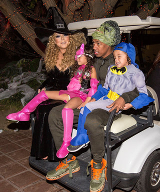 Mariah Carey Reunites with Nick Cannon to Celebrate Halloween with Their Twins