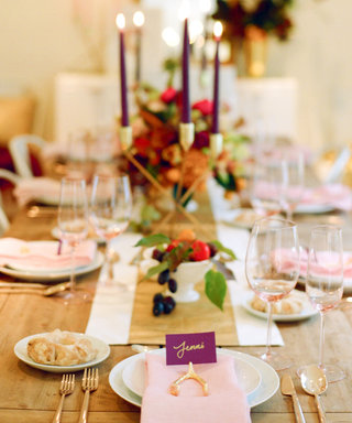How to Create the Perfect Thanksgiving Tablescape, According to Style Me Pretty's Abby Larson