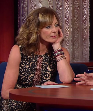 "Watch Allison Janney Get ""Hot Blooded"" with Stephen Colbert"