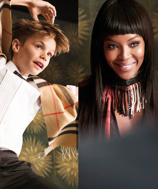 Naomi Campbell and Elton John Lead Roster of A-List Brits in Burberry's FestiveHoliday Campaign