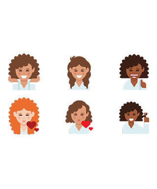 Curly Hair? There's (Finally!) an Emoji for That