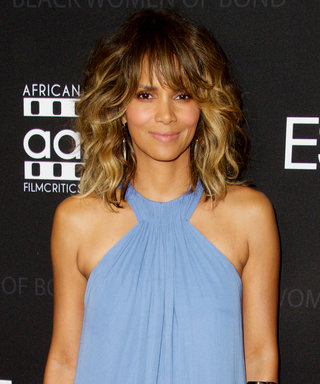 Halle Berry Exudes '70s Glamour During a Rare Public Appearance
