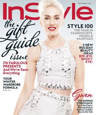 Visit Gwen Stefani On the Set of Her InStyle Cover Shoot