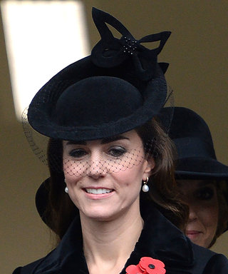 Kate Middleton Wears Dark Hues for the Remembrance Festival