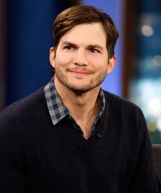 Ashton Kutcher May Have Just Shared the First Photo of His Daughter with Mila Kunis