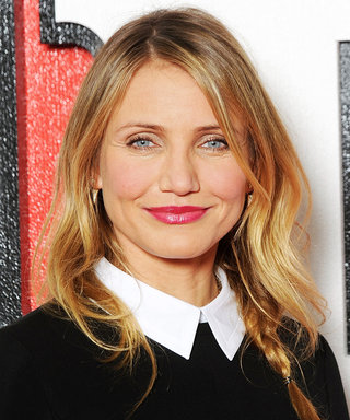 Cameron Diaz Shows Off Her New Initials on a Monogrammed Valentino Purse