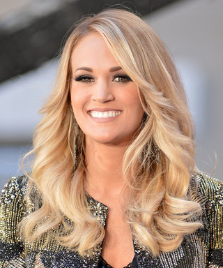 """Watch Carrie Underwood Get Sweet, Sloppy Kisses from Baby Isaiah: """"I Don't Mind!"""""""