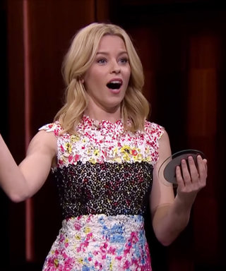 Watch: Elizabeth Banks Plays Catchphrase, Renames a Taylor Swift Song
