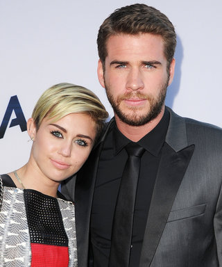 Miley Cyrus's Photo of Liam Hemsworth Relaxing with His Dog Is Too Cute