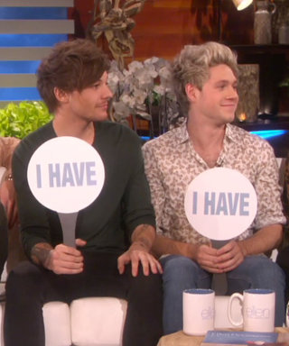 "One Direction Plays a Very Revealing Game of ""Never Have I Ever"" With Ellen DeGeneres"