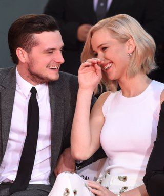 12 GIFs That Show How Much Hunger Games Stars Jennifer Lawrence and Josh Hutcherson Adore Each Other