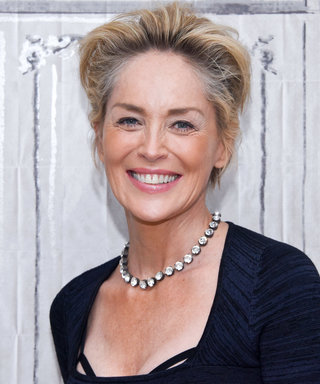 Sharon Stone Paints Poolside in Sexy Bikini Because She's Sharon Stone