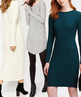 5 Sweater Dresses Made Especially for Petites