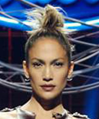 J. Lo Stuns in a Skintight Leather Dress for American Idol Season 15 Auditions