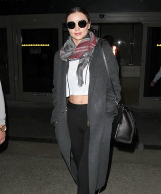 Miranda Kerr Makes Leggings Look Travel-Chic at LAX
