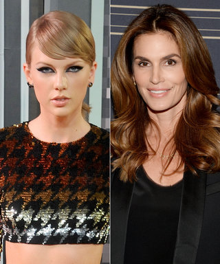 Cindy Crawford Receives a VMA from Taylor Swift, Celebrates with a Star-Studded Photo