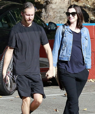 Anne Hathaway Steps Out for the First Time Since Announcing Pregnancy
