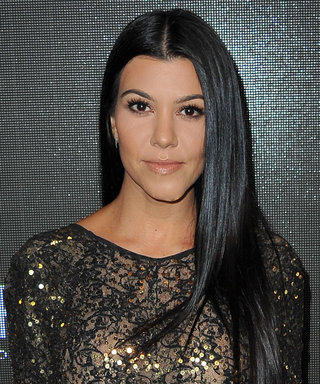 Kourtney Kardashian and Her Enviable Abs Hit the Gym
