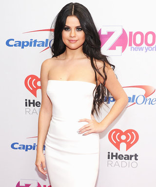 Selena Gomez Is White Hot at Z100 Jingle Ball