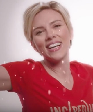 Try Not to Get Scarlett Johansson and Barry Manilow's(RED) Shopathon Holiday Jingle Stuck in Your Head