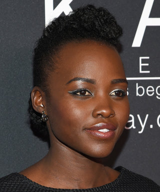 Lupita Nyong'o's Silver Lining: How to Get Her Metallic Eye Look
