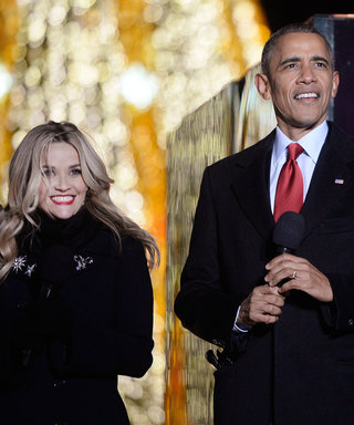 Reese Witherspoon and Obamas Ring in the Holiday Season at the National Christmas Tree Lighting